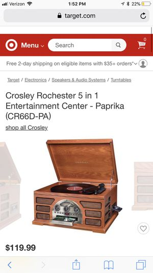 0463c45b1aa1 5 in 1 crosley record player for Sale in Chicago