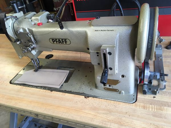 Pfaff 40 Industrial Walking Foot Sewing Machine For Sale In West New Pfaff Walking Foot Sewing Machine