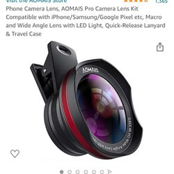 Wide Angle & Macro Lens for iPhone & Android  Thumbnail
