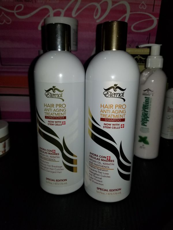 Anti Aging Eternal Hair Pro Anti Aging Treatment Shampoo
