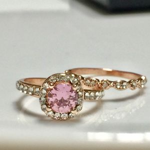 Gold plated ring women's jewelry accessory Christmas wedding ring band for Sale in Silver Spring, MD