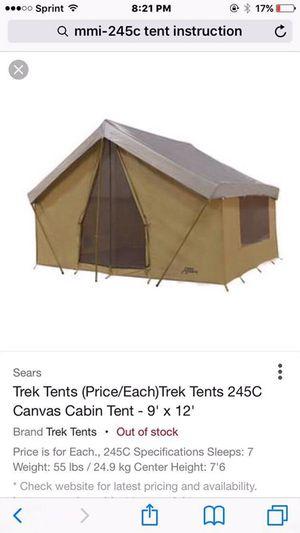 Tent Trek 245c for Sale in San Jacinto, CA - OfferUp