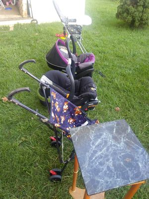 Babies cart seats boy and girl stroller for Sale in Rockville, MD