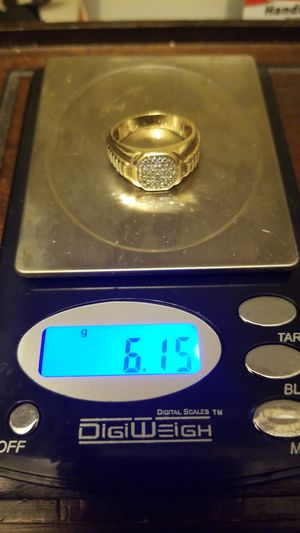 MEN GOLD AND DAIMOND RING for Sale in Fort Belvoir, VA