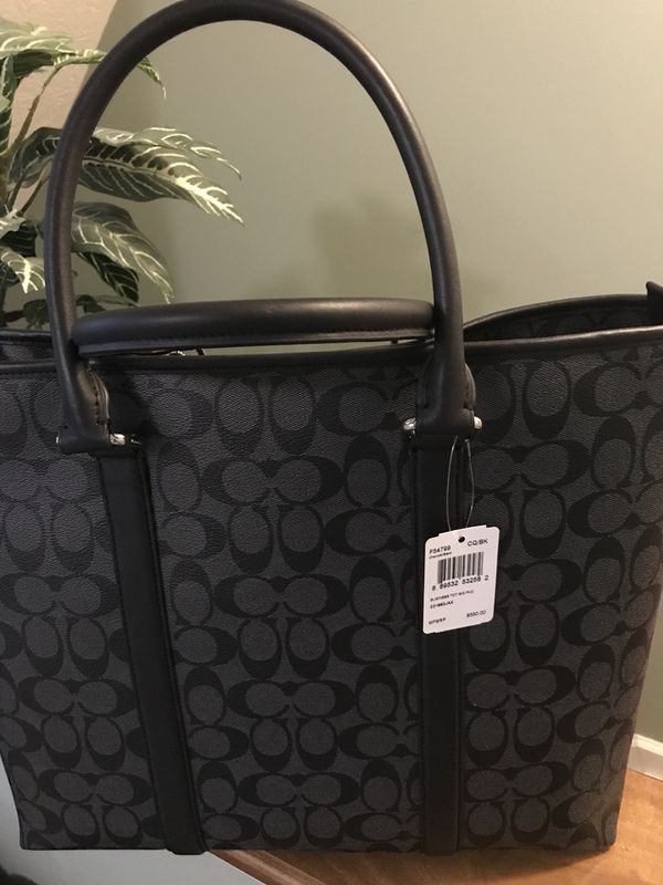 d0c5fa2f1afb New Coach business tote bag- Price negotiable for Sale in ...