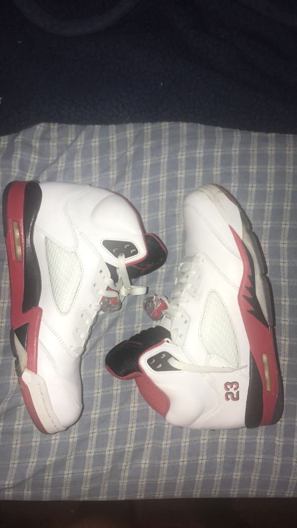 24ee722a154f4c Jordan 5 fire red for Sale in Compton