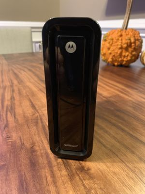Motorola Router - Surfboard SB6121 for Sale in Fairfax, VA
