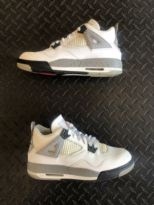 9a51eb7a3197af Jordan retro 4 white cement og Nike Air Size 7 with box for Sale in Ontario