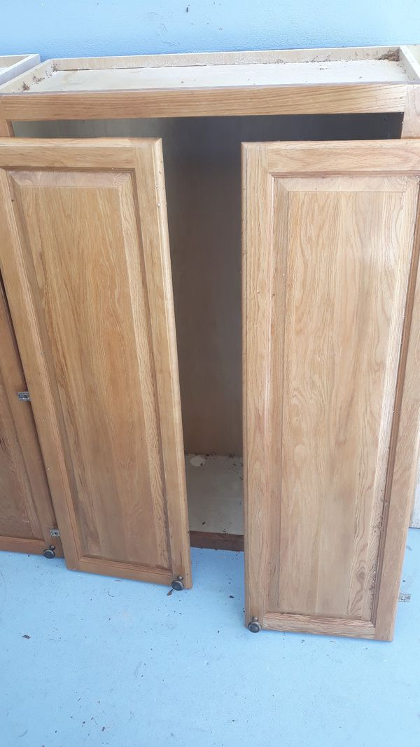 Wood kitchen cabinets for Sale in West Palm Beach, FL ...