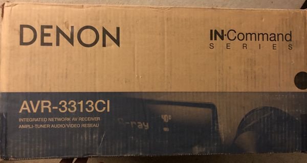 Denon AVR-3313CI Networking Home Theater Receiver with AirPlay and 3 Zone  Capacity - PICKUP ONLY!! for Sale in Mountain View, CA - OfferUp