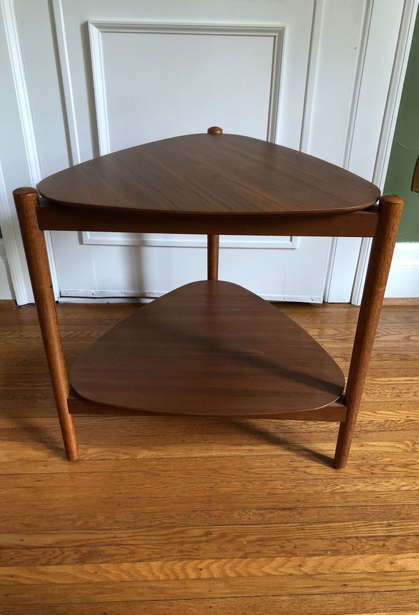 West Elm Retro Tripod Side Table For Sale In Brighton NY OfferUp - West elm tripod side table