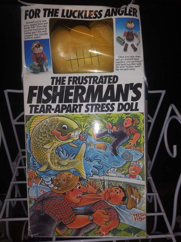 Fisherman S Tear Apart Stress Doll For Sale In San Jacinto Ca Offerup