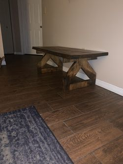Pine coffee table Thumbnail