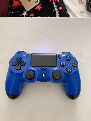 PS4 blue controller for Sale in Alexandria, VA