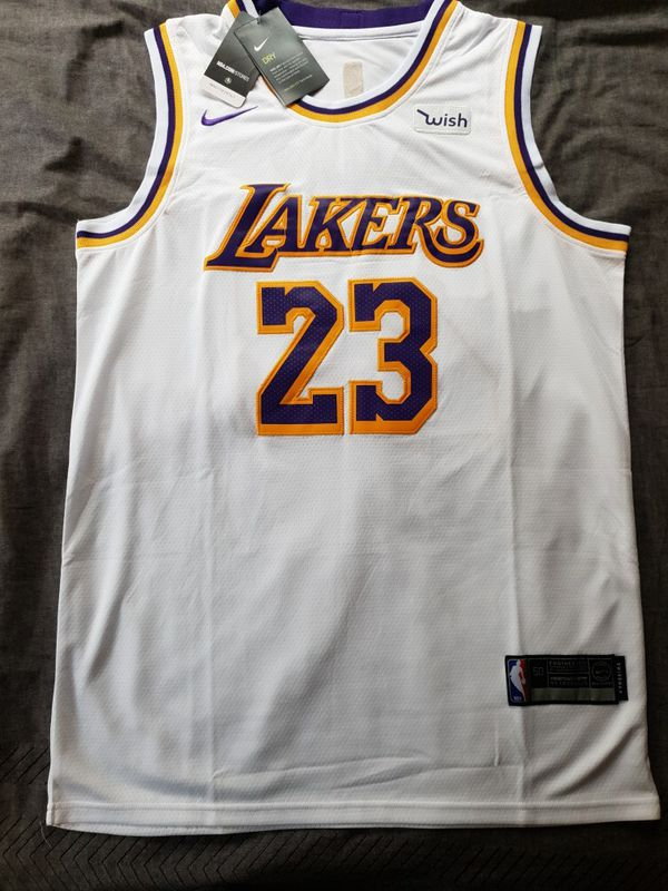 100% authentic 8d759 82c03 Los Angeles Lakers Lebron James #23 *White Jersey* for Sale in San  Bernardino, CA - OfferUp