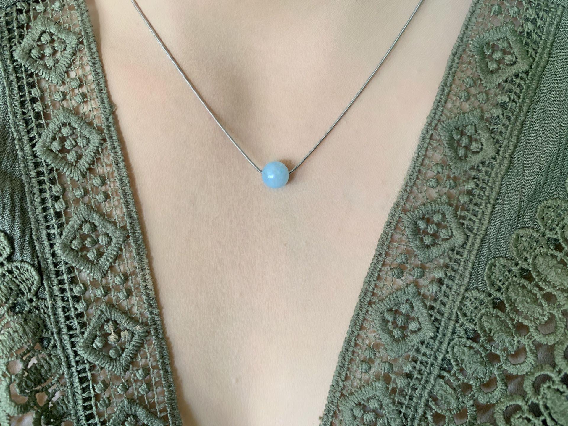Handmade Crystal bead Necklace