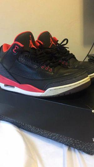 Air Jordan 3 Crimson for Sale in Jessup, MD