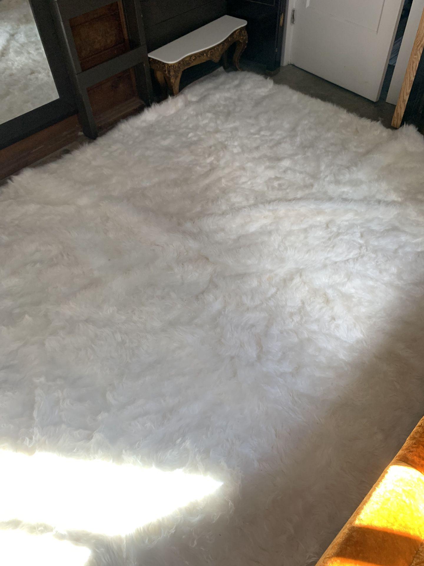 Faux Fur nuLoom Rug 6'x9'