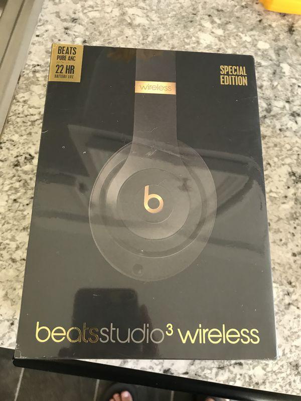 Beats Studio 3 Wireless Black Gold For Sale In Virginia Beach Va Offerup
