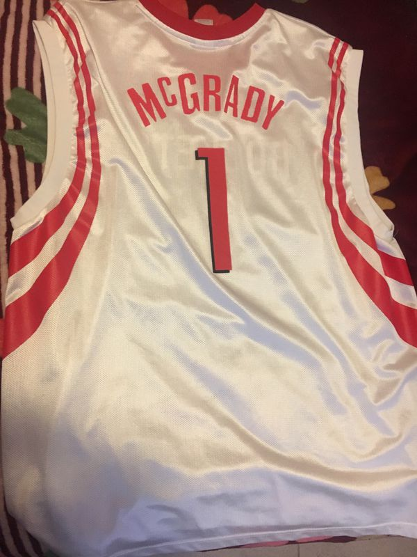 the best attitude 76a59 1e5bb Tracy McGrady Houston Rockets Jersey for Sale in Houston, TX - OfferUp