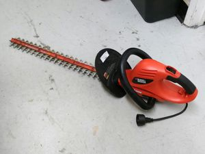 "$49.99 - Black& Decker HedgeHog 24"" 3.0 Amp Hedge Trimmer for Sale in Bonita, CA"
