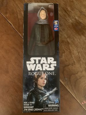 Star Wars rogue one sergeant jyn erso action figure for Sale in Fresno, CA