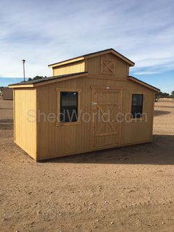8x16 Livery Style Storage Shed Thumbnail