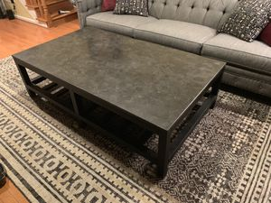 Coffee table with stone top for Sale in Washington, DC