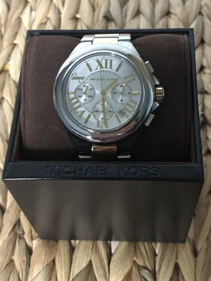 Photo Michael Kors MK5653 Camille Silver & Gold Stainless Steel Watch