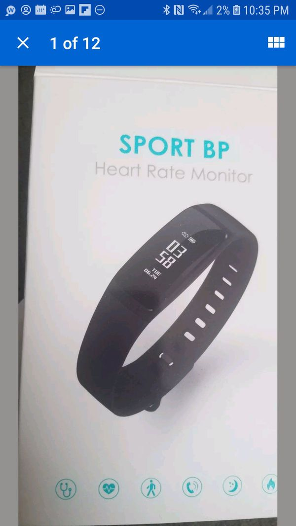 H BAND SPORT BP HEART RATE MONITOR for Sale in Covina, CA - OfferUp