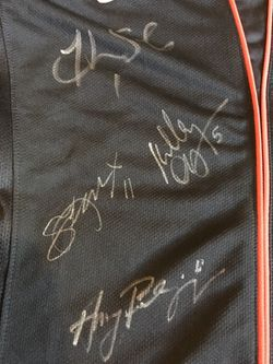 USWNT Signed World Cup Jersey Thumbnail