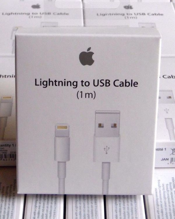 3f24dedd7db Original 100% Authentic OEM Apple Lightning Cable IPhone Charger - Brand  New/ Unopened/ Never Used