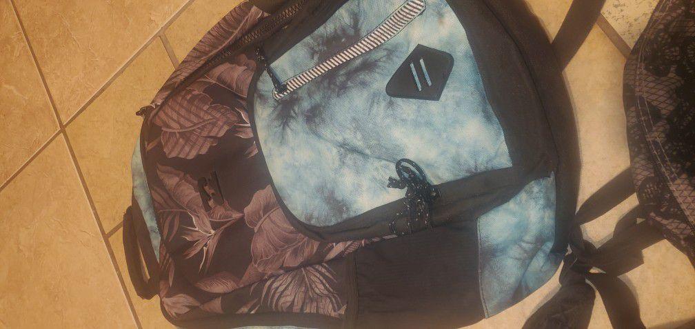 Billabong Backpack And Jansport