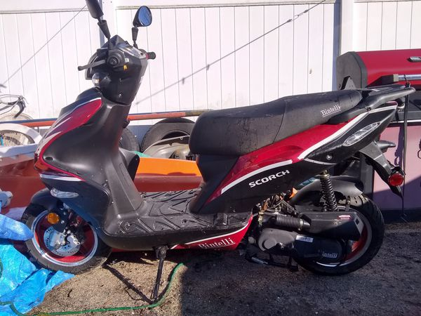 2018 50cc pay 1800 well cell for 850 firm 500 miles on it