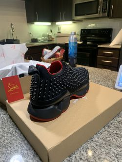Christian Louboutin Authentic Spike Sneakers Thumbnail