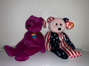 Photo Beanie babies (Millennium&Spangle)