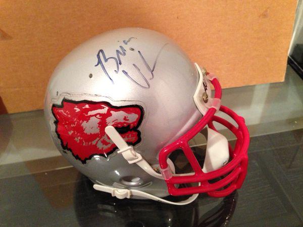 8e96a61ef0f Brian Urlacher New Mexico Signed Mini Helmet for Sale in Buffalo ...