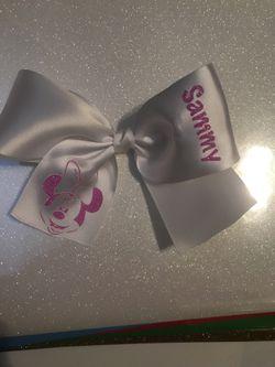 Custom vinyl bows Thumbnail
