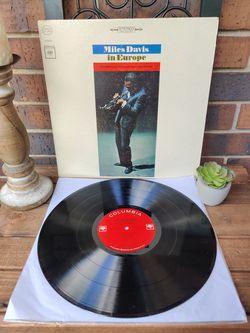 Vintage Miles Davis IN Europe Vintage Lp/Album/Record/Album Thumbnail
