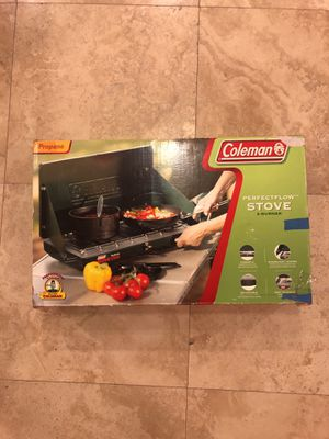 Coleman Perfectflow 2-Burner Propane Stove for Sale in Miami, FL