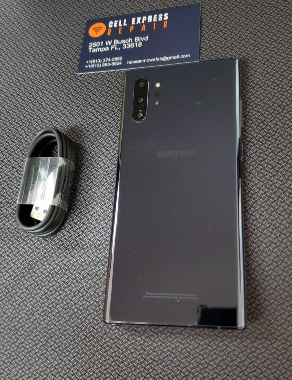 Samsung Note 10 Plus Unlocked Like New Condition With 30 Days Warranty