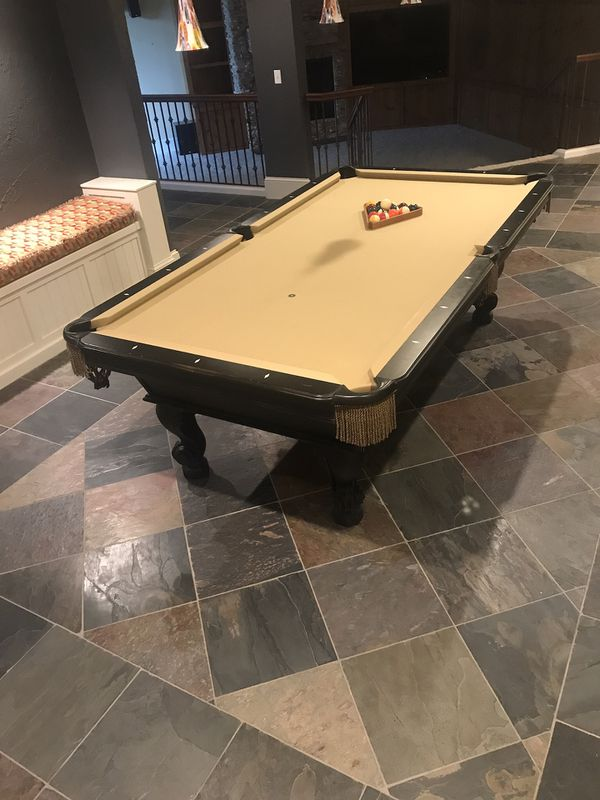 Olhausen Ft Pool Table Excellent Condition For Sale In West Des - Pool table movers des moines