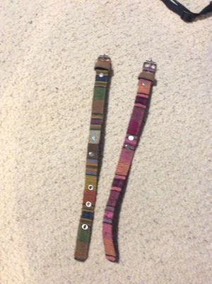 Two dog collars made in Ecuador for Sale in Washington, DC