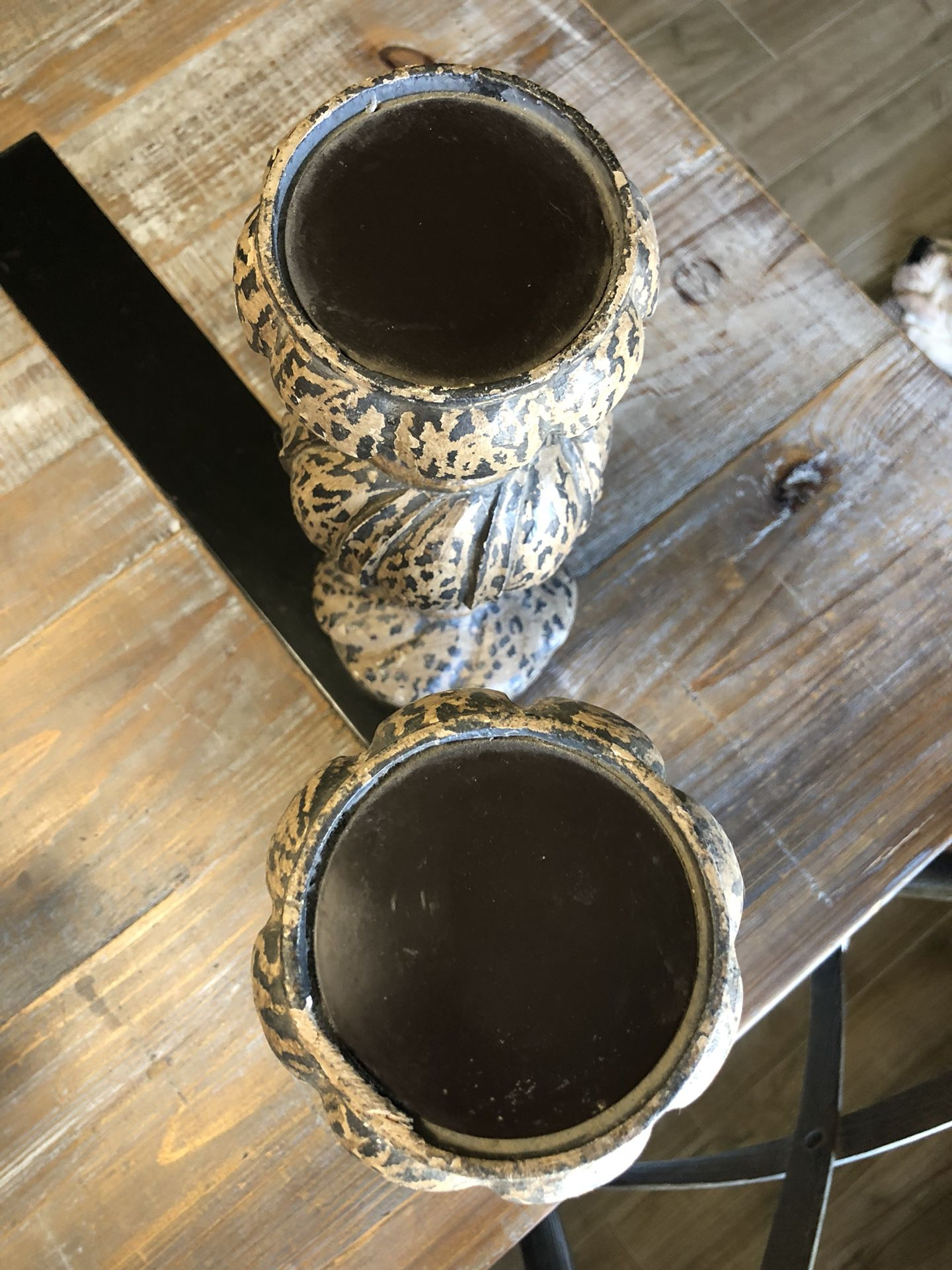 Potterybarn Candle Pillar Holders