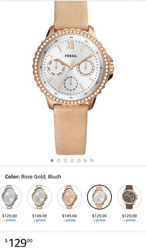 Photo Fossil watch new
