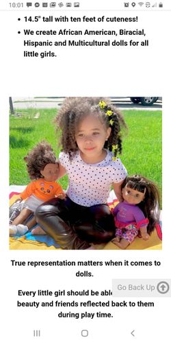 Positively perfect ethnic doll Thumbnail