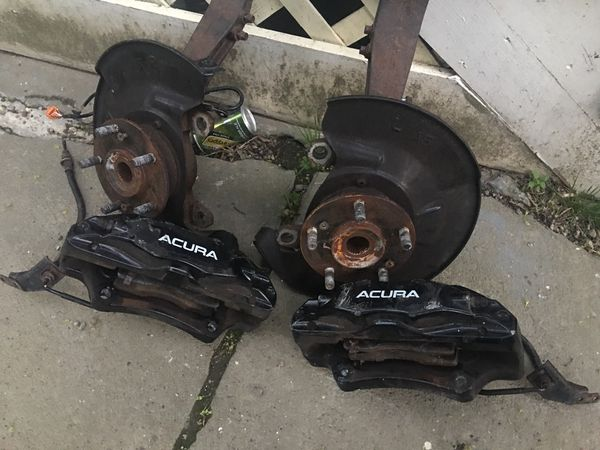 Acura TL Type S Brembo Calipers And Spindles For Sale In Boston MA - Acura tl brembo calipers