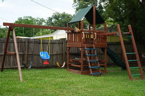 Child Life Wooden Playset For Sale In Tampa Fl Offerup