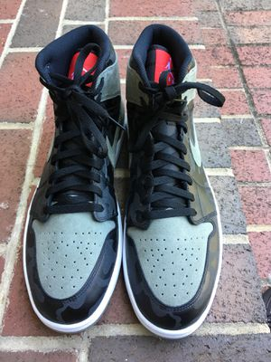 Nike Air Jordan 1 Retro High Premium Camo pack AA3993-034 (size 15) for Sale in Chevy Chase, DC