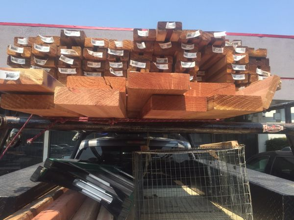 2x6 x 2x4 Redwood decking for Sale in Lafayette, CA - OfferUp
